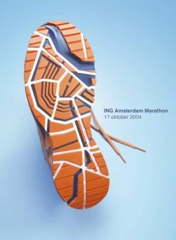 SG ING Amsterdam Marathon Shoe