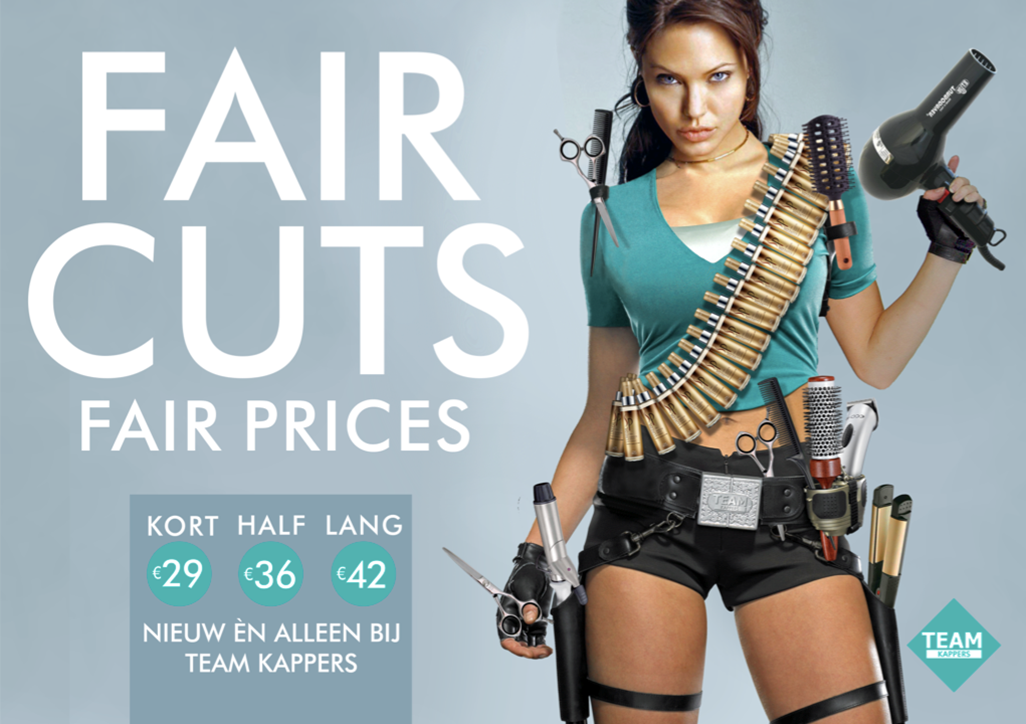 FAIR CUTS FAIR PRICES - TEAM KAPPERS - HAIR DRESSERS