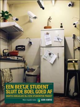 EEN BEETJE STUDENT SLUIT DE BOEL GOED AF' ABN AMRO